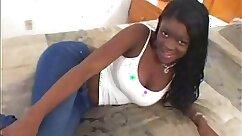 Black dick for busty teen girl begging young amateurs jizz