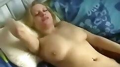 Busty and pretty amateur kelly gal in a FFM threesome