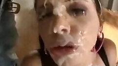 Blonde Sluts Getting Bukkake Fantasies