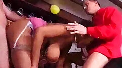 Public place orgy housewives fuck