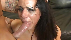 Awesome beautiful Latino is getting one of her wet holes ravished