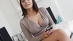 Bubble Butt Busty Teen Casting Couch POV