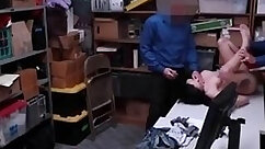Big teen Raw movie grips police arresting a prostitute