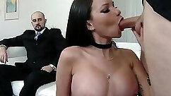BBW Wife fucks with her husband