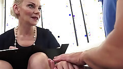 Casting euro mature hottie fucked and jizzed