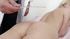 Blonde nurse enjoys having sex inside the vagina