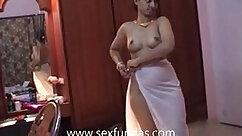 Busty latin Naked wife Marlene fucks hard