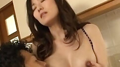 Alexia jacking off for breasty Asian milf
