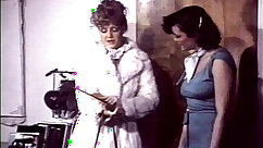 Bosomy and sexy angels Lanna Love & Raquel Vega in classic lesbian scene