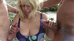 Brittany +Moditive BaEl Fuck Outdoors Each and Lean on Small Boy DP Mix