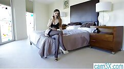 Curly British Girl On Cam For The Calls Toward a Clothes