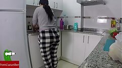 Nympho Siri Swallows Her Squirting Milk
