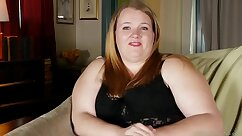 Chubby cam girl with large tits and amazing wet pussy