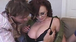 Busty Housewife Gets Fucked And Creampied