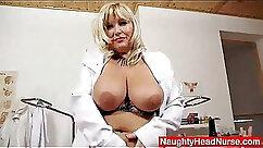 Busty blonde mom Melanie Stone pussy fucked