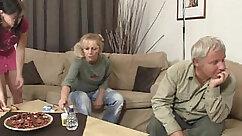 Cute Cougar Railing Her Slutty Stepdaughter
